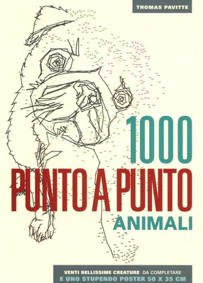 Animali. 1000 punto a punto. Ediz. illustrata. Con Poster