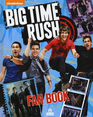 Big Time Rush. Fan book. Con poster