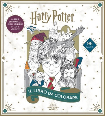 Harry Potter. Il libro da colorare