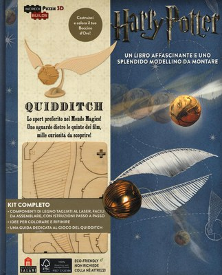 Harry Potter. Quidditch. Puzzle 3D Incredibuilds da J. K. Rowling. Ediz. illustrata. Con gadget