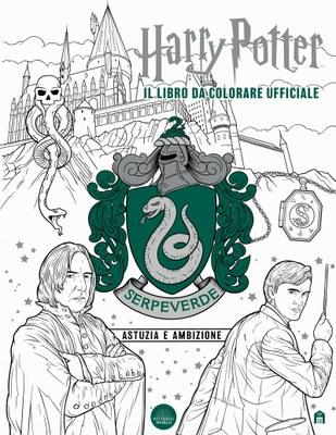 Harry Potter. Serpeverde: astuzia e ambizione - Il libro da colorare ufficiale
