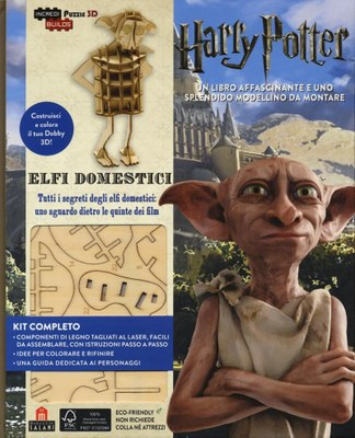 Incredibuilds Harry Potter - Elfi domestici. Nuova edizione