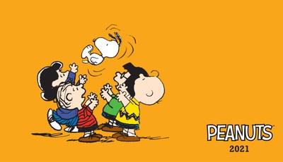 Peanuts. Agenda orizzontale 2021