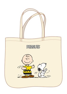 Peanuts. Snoopy e Charlie - Shopper classic